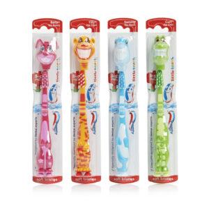 Aquafresh Little Teeth Toothbrush for Kids, Soft (3-5 Years)