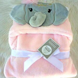 Bebe Comfort Hooded Blanket