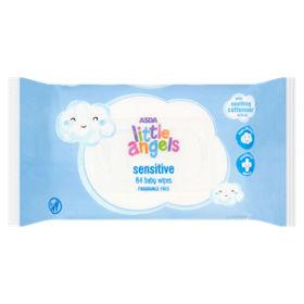 ASDA Little Angels Sensitive Baby Wipes