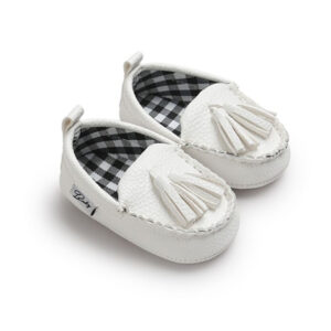 Faux Leather Newborn Baby Shoe