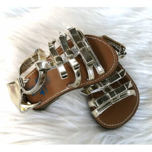 Baby Girl Gold Bow Sandals