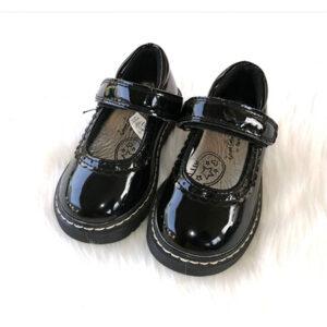Black Patent Girls Shoes