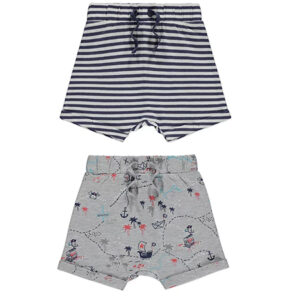 Beach Print Top and Shorts Outfit (Single)