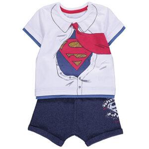 DC Comics Superman T-Shirt and Shorts Outfit